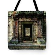 Mysterious Entrance Tote Bag by Jaroslaw Blaminsky