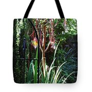 Mystery Fence Tote Bag