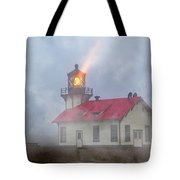 Mystical Point Cabrillo Lighthouse California Tote Bag