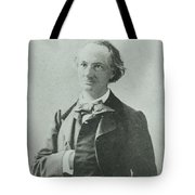 Nadar Portrait Of Charles Baudelaire Tote Bag