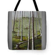 Naked Forest Tote Bag