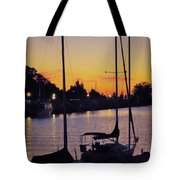 Narrow Sunset Tote Bag