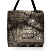 Nativity Cave Tote Bag