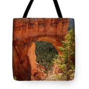 Natural Bridge - Bryce Canyon - Utah - Vertical Tote Bag