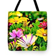 Naturalness And Flowers 35 Tote Bag