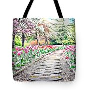 Naturalness And Flowers 36 Tote Bag