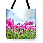 Naturalness And Flowers 48 Tote Bag