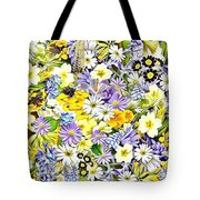 Naturalness And Flowers 54 Tote Bag