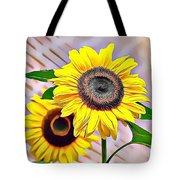Naturalness And Flowers 60 Tote Bag
