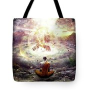 Nature And Time Tote Bag