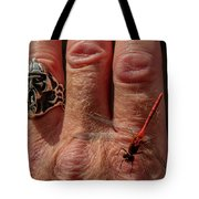 Nature's Dragonfly Tote Bag