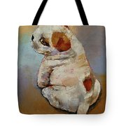 Naughty Puppy Tote Bag
