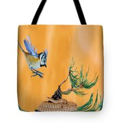 Nearsighted Bird 2 Tote Bag
