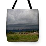Nebraska Supercell 009 Tote Bag by Dale Kaminski