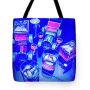 Neon Bar Tote Bag