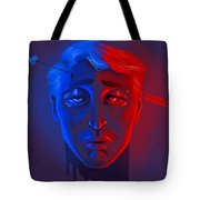 Neon Misery Tote Bag