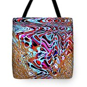 Net Full Of Abstracts 5b Tote Bag