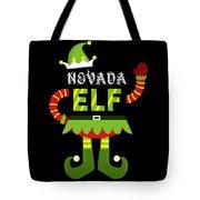 Nevada Elf Xmas Elf Santa Helper Christmas Tote Bag