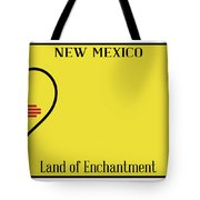 New Mexico State License Plateai Tote Bag