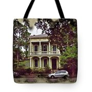 New Orleans Home In Watercolor Tote Bag