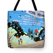 New York Aquarium, Coney Island, Brooklyn, New York Tote Bag