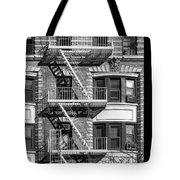 New York City Fire Escapes Tote Bag