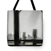 New York City From The Bridge #nyc #cityscape Tote Bag