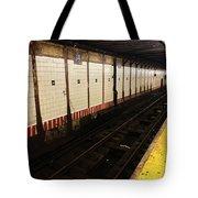 New York City Subway Line Tote Bag