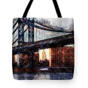 New York Panorama - 30 Tote Bag