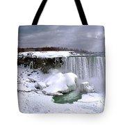 Niagara Falls Late Winter Tote Bag