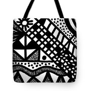 Night And Day 7 Tote Bag