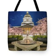 Night At The Capitol Tote Bag