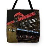 Night City Colors Tote Bag