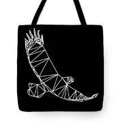 Night Eagle Tote Bag