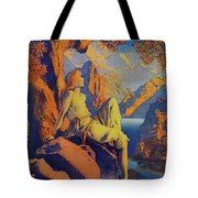 Night Is Fled Tote Bag