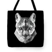 Night Mountain Lion Tote Bag