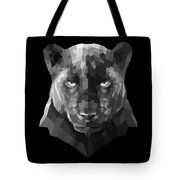 Night Panther Tote Bag