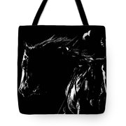 Night Riders Tote Bag