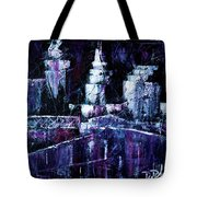 Night Town Cle Tote Bag