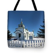 Ninilchik Russian Orthodox Church Tote Bag