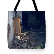 No One Ever Leaves Tote Bag