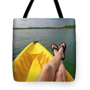 No Particular Place To Go In Maine Tote Bag