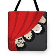 No1053 My A Night At The Opera Minimal Movie Poster Tote Bag