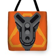 No1075 My Doom Minimal Movie Poster Tote Bag