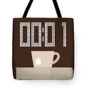 No973 My The Equalizer Minimal Movie Poster Tote Bag