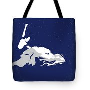 No975 My The Neverending Story Minimal Movie Poster Tote Bag