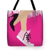 No987 My Working Girl Minimal Movie Poster Tote Bag
