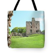 Norham Castle Tower Tote Bag
