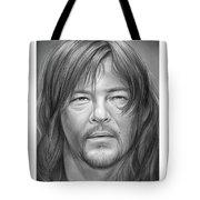 Norman Reedus Tote Bag