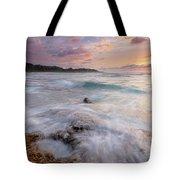North Shore Sunset Surge Tote Bag